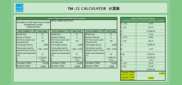 TM-21 CALCULATOR